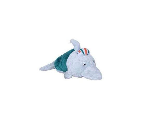 Miami Dolphins Sport Pillow Pet Mini Mascot Plush Toy Skiitz Your