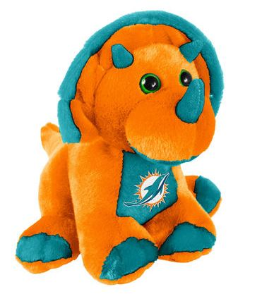 Miami Dolphins 8 Triceratops Skiitz Your Happy Place